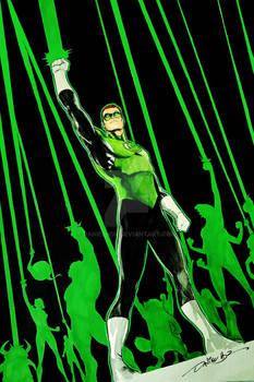 Green Lantern - COMMISSION