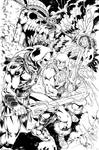 HE-MAN vs SKELETOR _ Masters of the Universe by danielhdr
