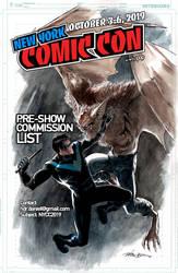 Nightwing vs Man-Bat + NYCC19