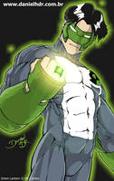 Green Lantern - Commission by danielhdr