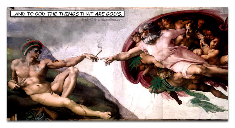 marihuana in Sistine Chapel by thereisnoline