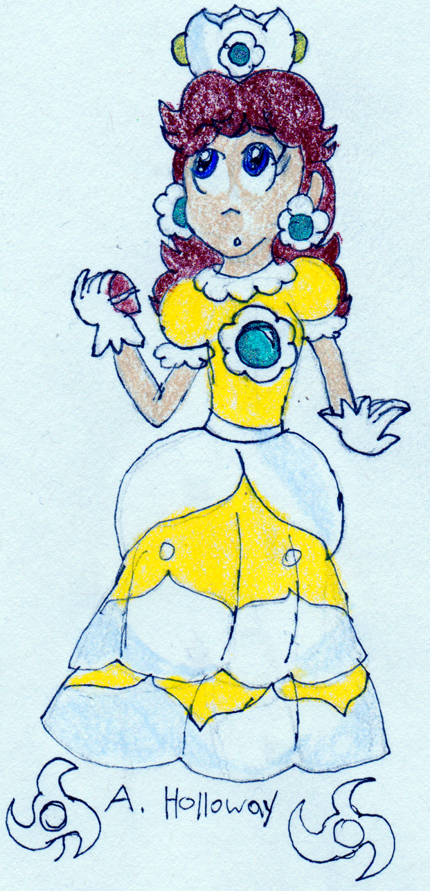 Princess Daisy by AstrotheBandiFox