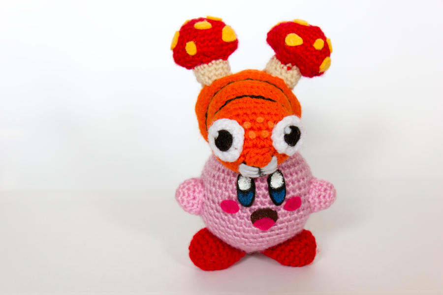 Crochet Patterns Amigurumi Monkey : Crochet Parasect Kirby Amigurumi by BryanHeemskerk on ...