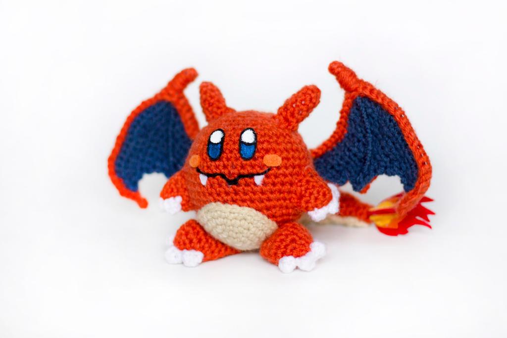 Crochet Charizard Kirby Amigurumi by BryanHeemskerk