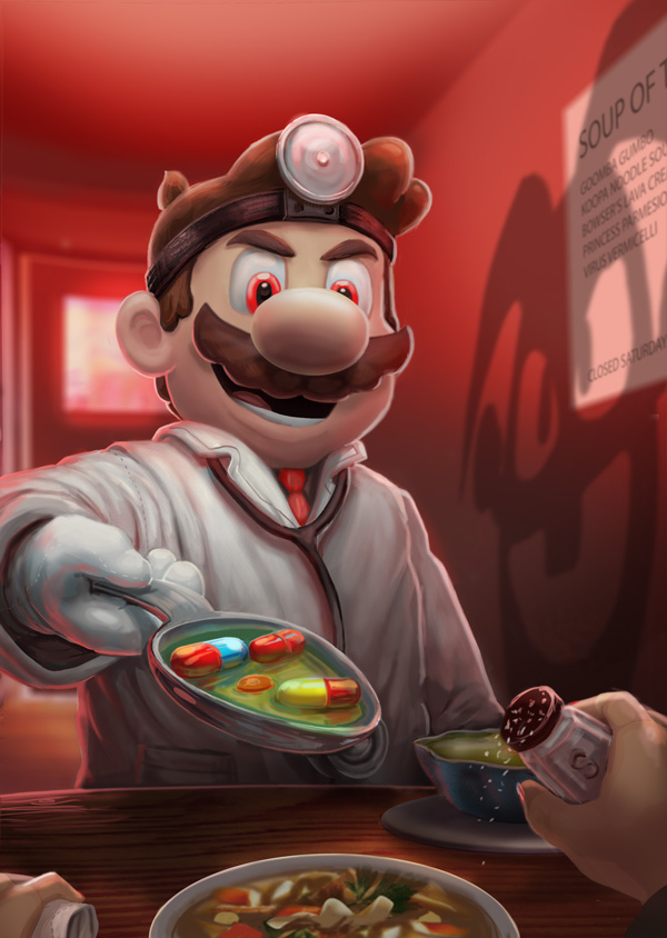 SMASH DATE: A DATE WITH DR. MARIO by BryanHeemskerk