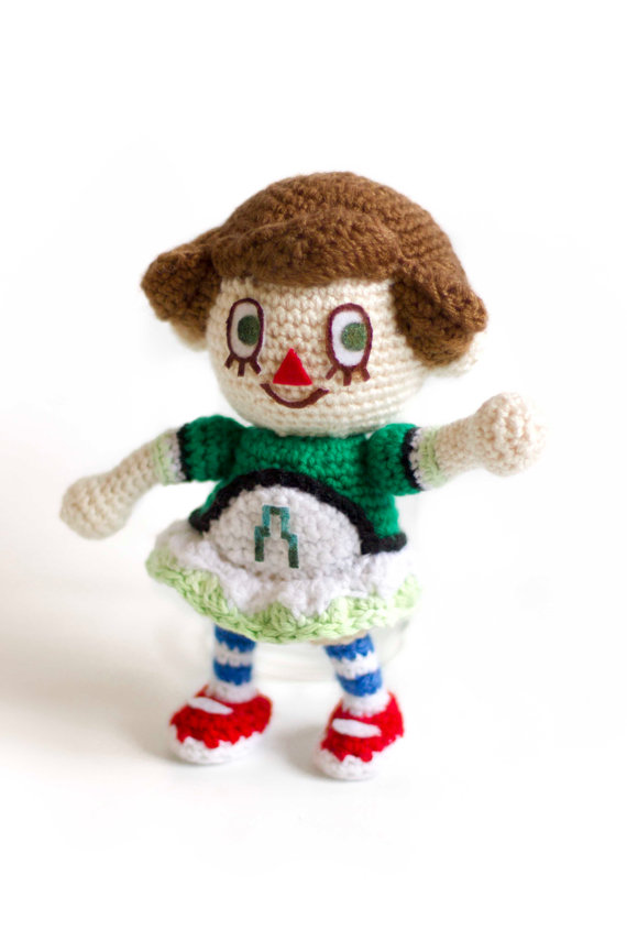 Animal Crossing Female Villager Amigurumi by BryanHeemskerk