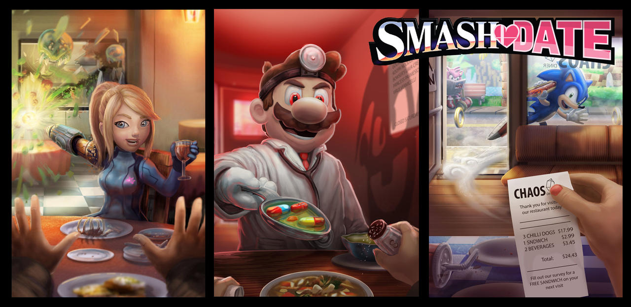 SMASH DATE SERIES by BryanHeemskerk