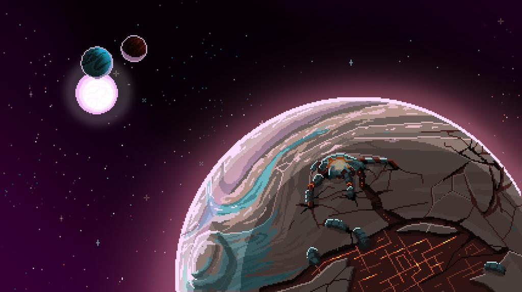 Voraash Homeworld by BryanHeemskerk