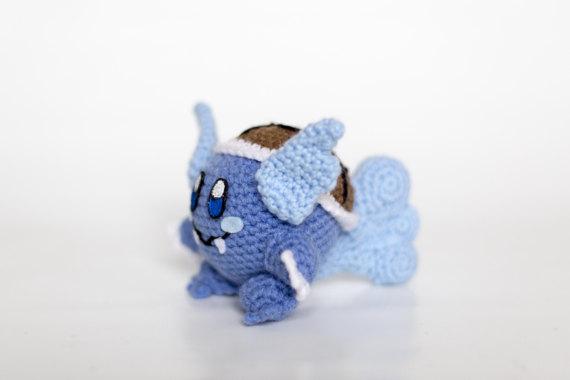 Crochet Wortortle Kirby Amigurumi by BryanHeemskerk