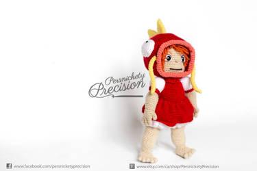 Crochet human Ponyo Magikarp by BryanHeemskerk