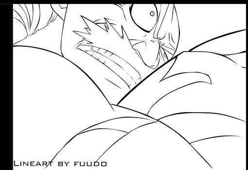 Lineart : acnologia's attack