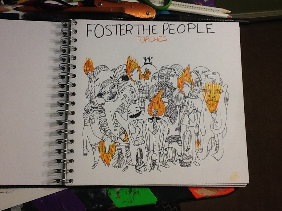 Foster the people album cover by Julia13art on DeviantArt