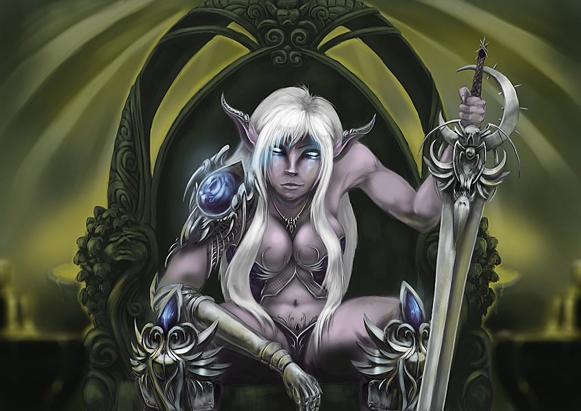 Dark Elf Warrior by Endrju89