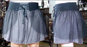 Gothic Fishnet Overskirt