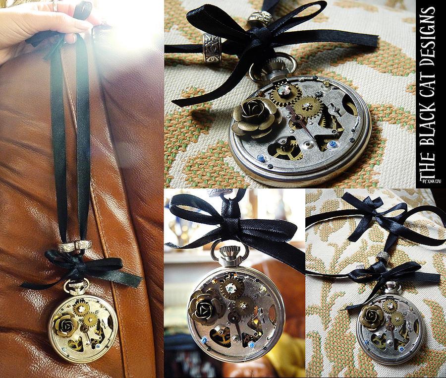 Clockwork necklace by xNatje