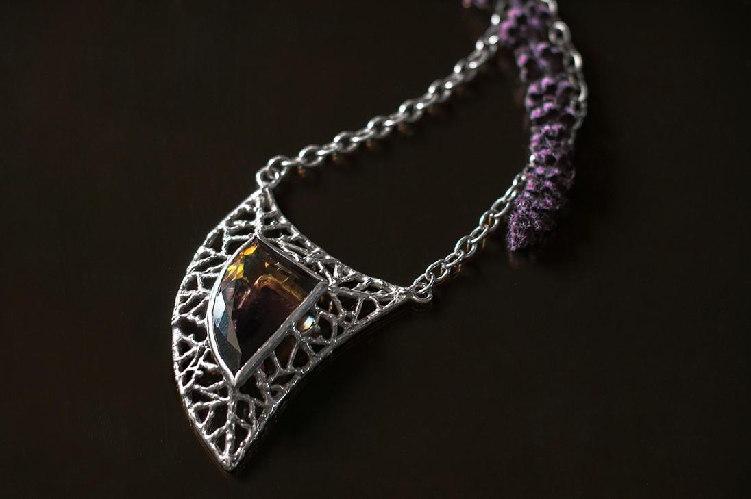 Ametrine necklace by xNatje