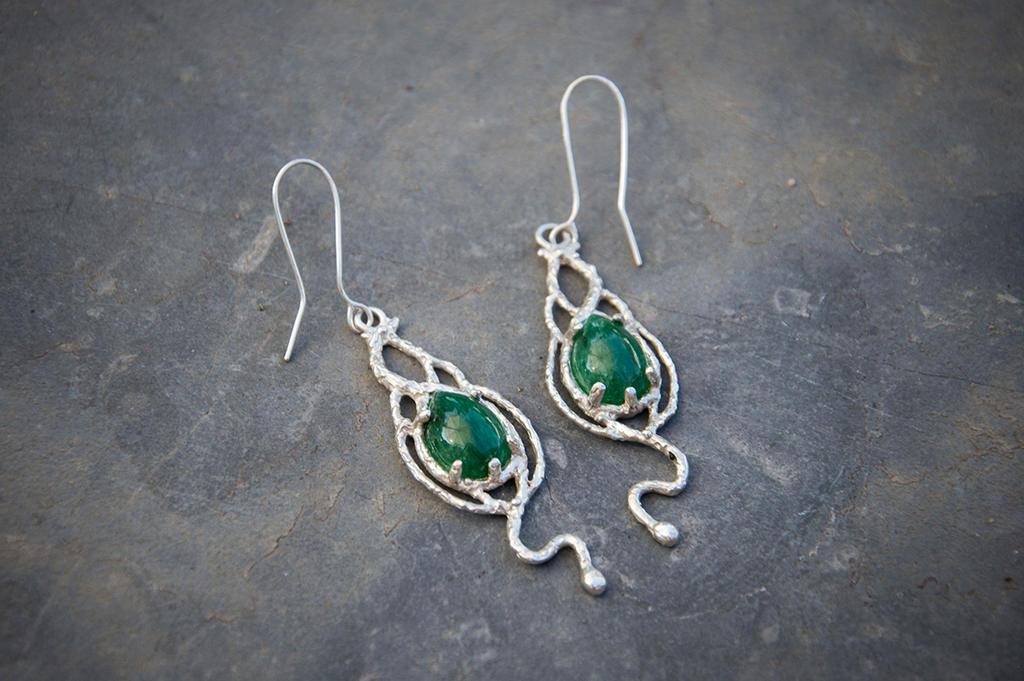 Aventurine earrings by xNatje