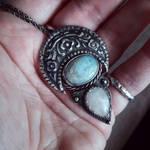 Moon pendant by xNatje