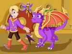 Legend of Spyro Main 3 by Aquillis