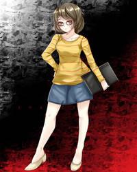 [Fan art Commission] Sadayo Kawakami