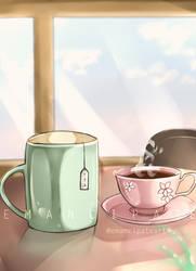 [Comission] Tea cups