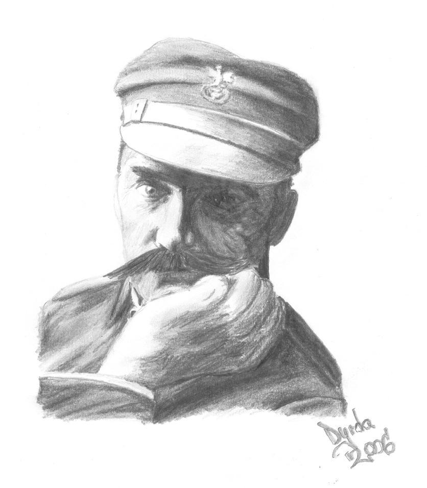 Jozef Pilsudski portrait by McDardy