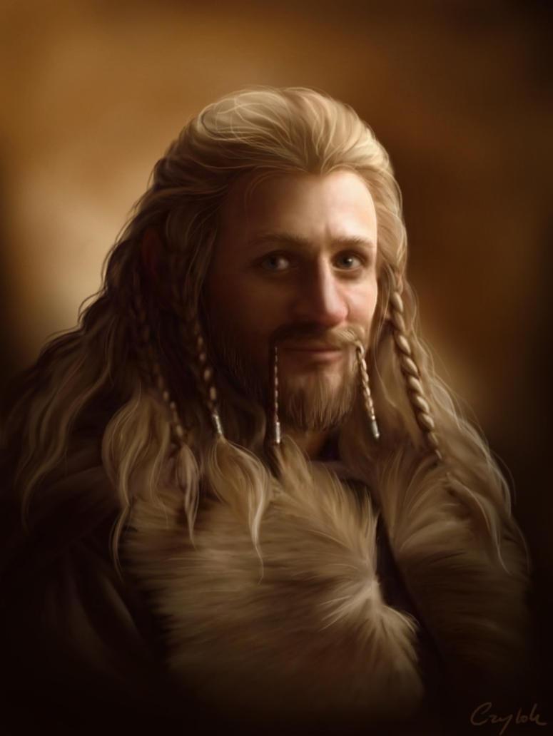 dibujos - el Hobbit  impresionantes dibujos Fili___brown_by_aegileif-d5zcmuz