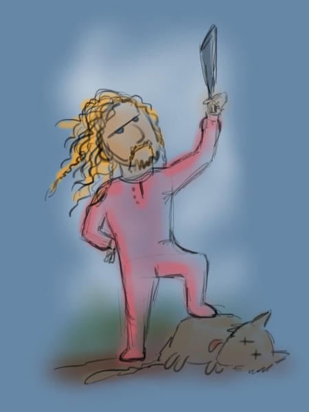 Fili the Majestic Warg Killer by Aegileif