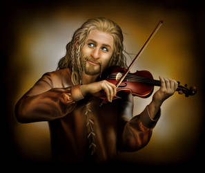 Fiddle-diddle-dum! by Aegileif