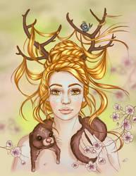 Bambi by Aegileif