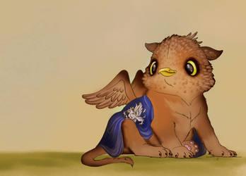 Little Griffon by Aegileif