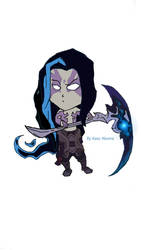Chibi Shadow Assassin Kayn by Kaso-Akuma