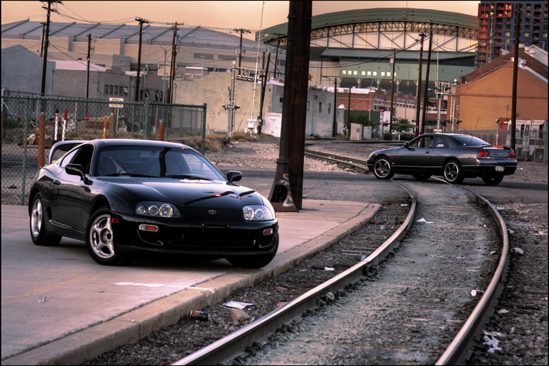 Supra and Skyline by XEMP7