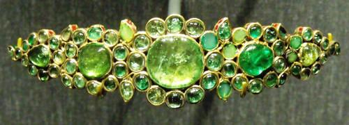 jade and emerald pin