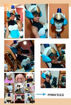 Patricia Wagon / helmet process