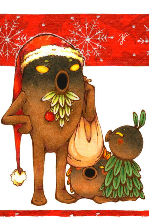 Deku Christmas by HanaLynn
