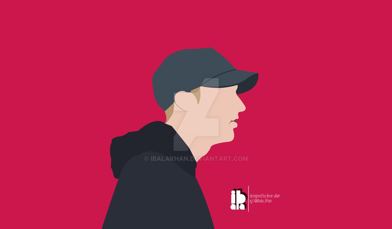 Eminem FanArt | Minimal Design by IbalaKhan on DeviantArt