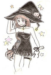 Witchy and Blackie XD by 88angel-vivi88