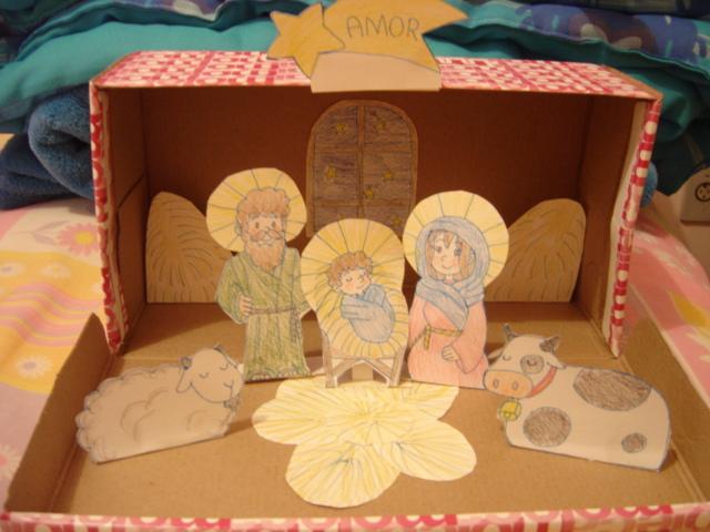 Nativity Scene In A Shoe Box By 88angel Vivi88 On Deviantart