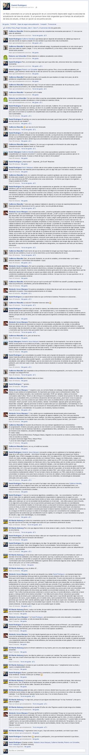 Dialogo Sobre la Educacion Contemporanea by Sadasant