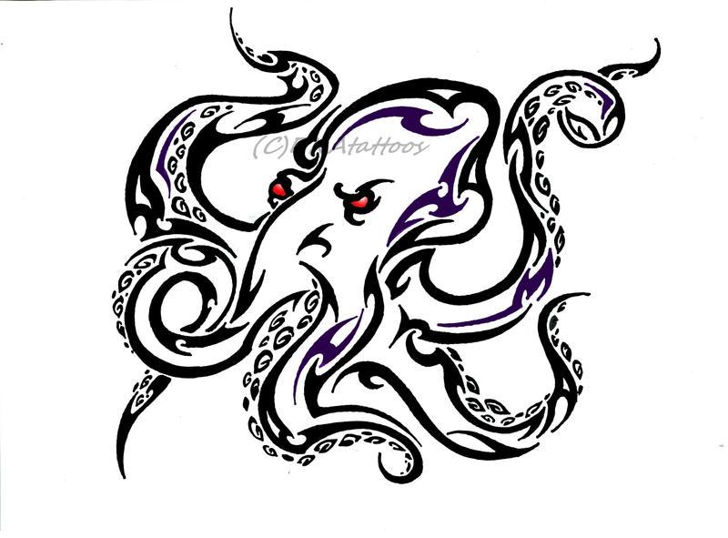 Octopus Tribal by weedenstein on DeviantArt