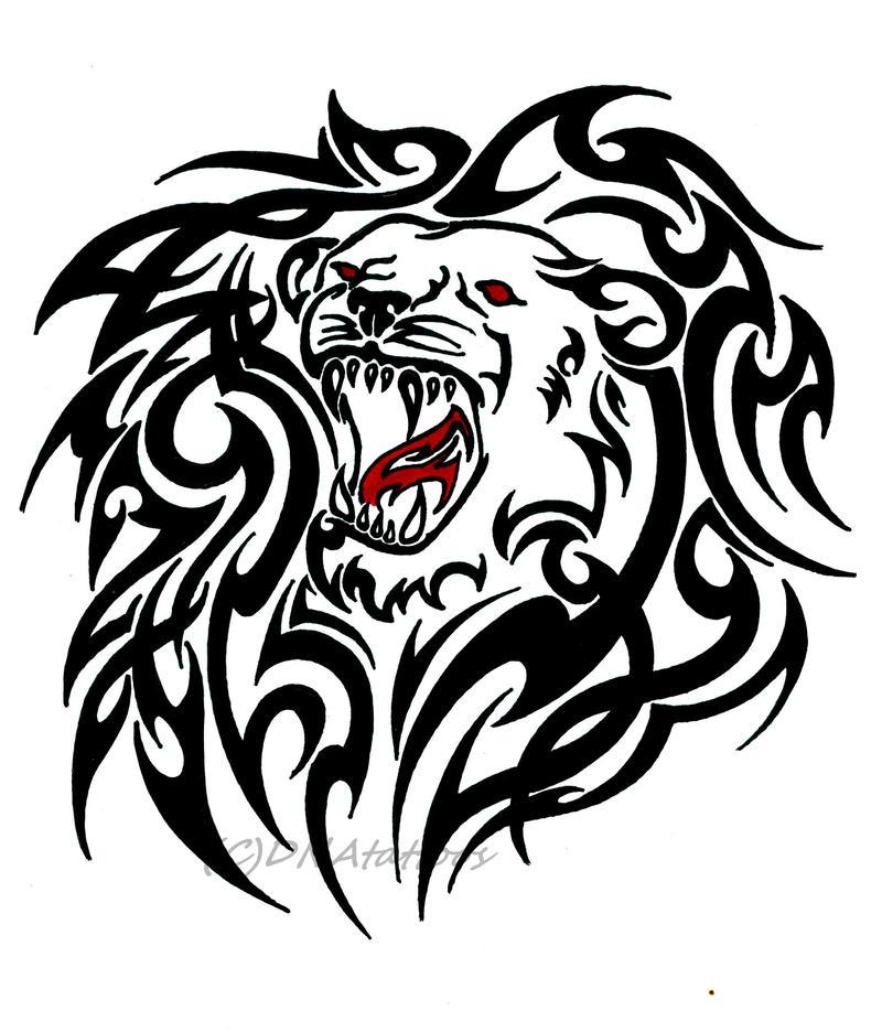Lion Tribal by weedenstein on DeviantArt