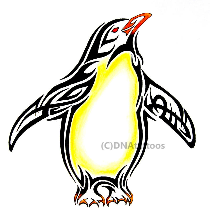 Penguin Tribal by weedenstein on DeviantArt