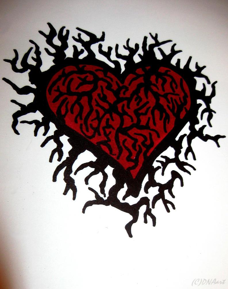 Obvious Heart by weedenstein