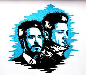 Clint and Tony 5