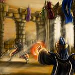 Duel Arena - Runescape Fanart
