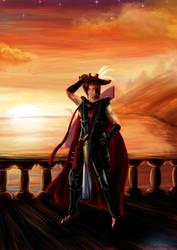 self-portrait Marikdebie - Runescape Fanart by MysticDragons