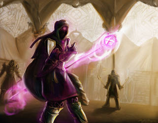 The Fall of Zaros - Runescape Fanart by MysticDragons