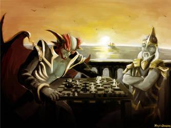 Checkmate - Runescape Fanart by MysticDragons