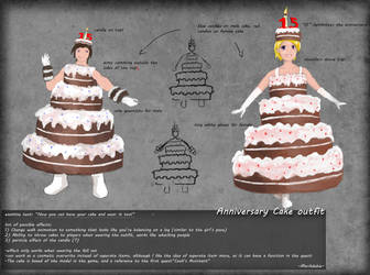 Cake outfit by Marikdebie by MysticDragons
